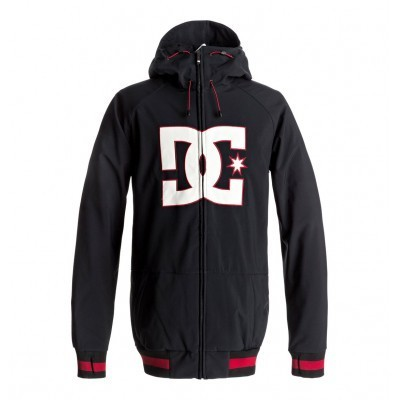 DC Spectrum Jacket Black/Red