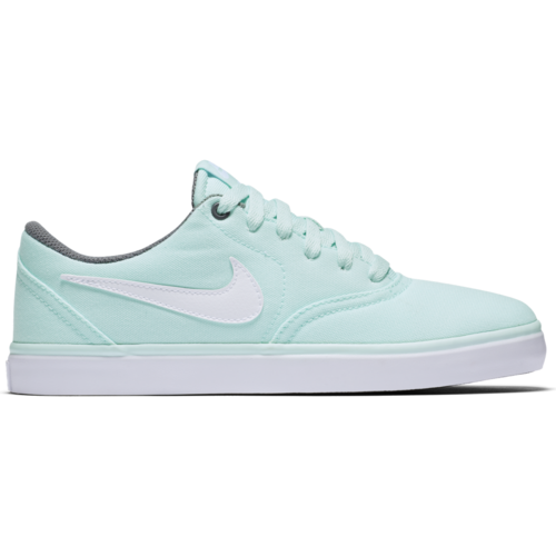 NIKE Women SB Check Solar, Teal / White / Grey