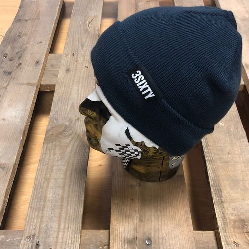 3SIXTY Beanie lang, navy