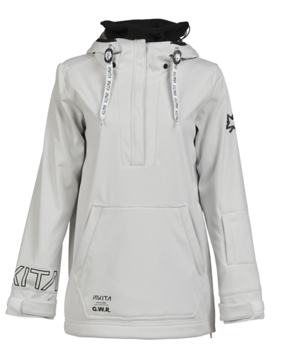 NIKITA Women Radio Po Hoody, white