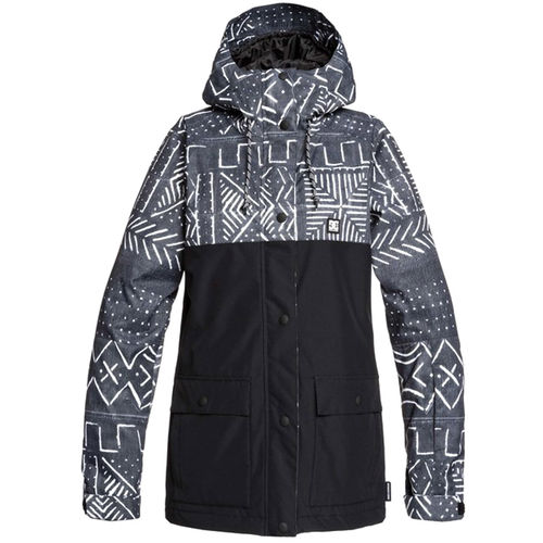 DC Cruiser Jacket, black/white